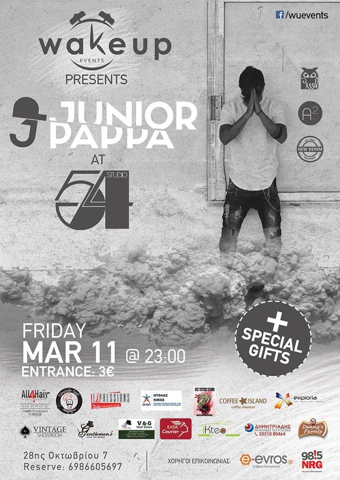 Junior Pappa @ Studio 54