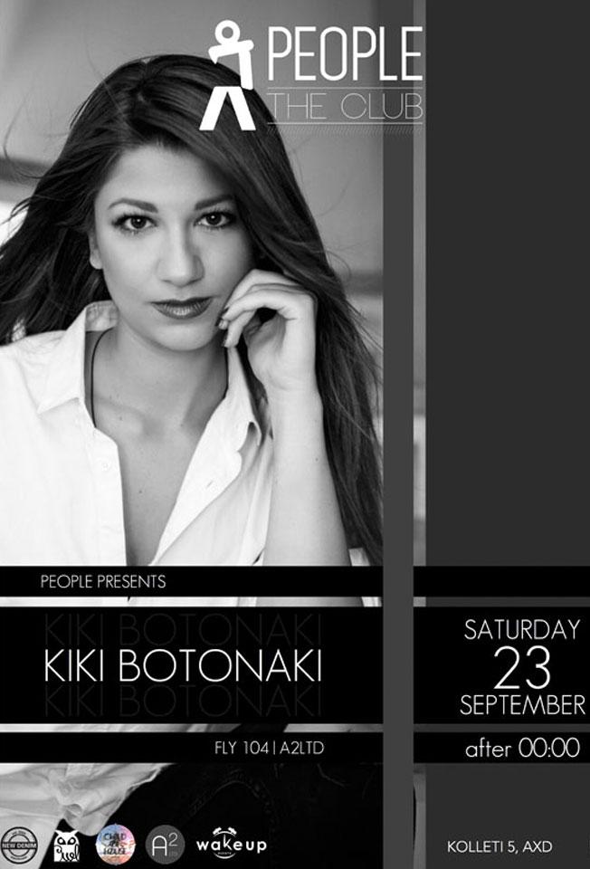 Kiki Botonaki @ People | The Club