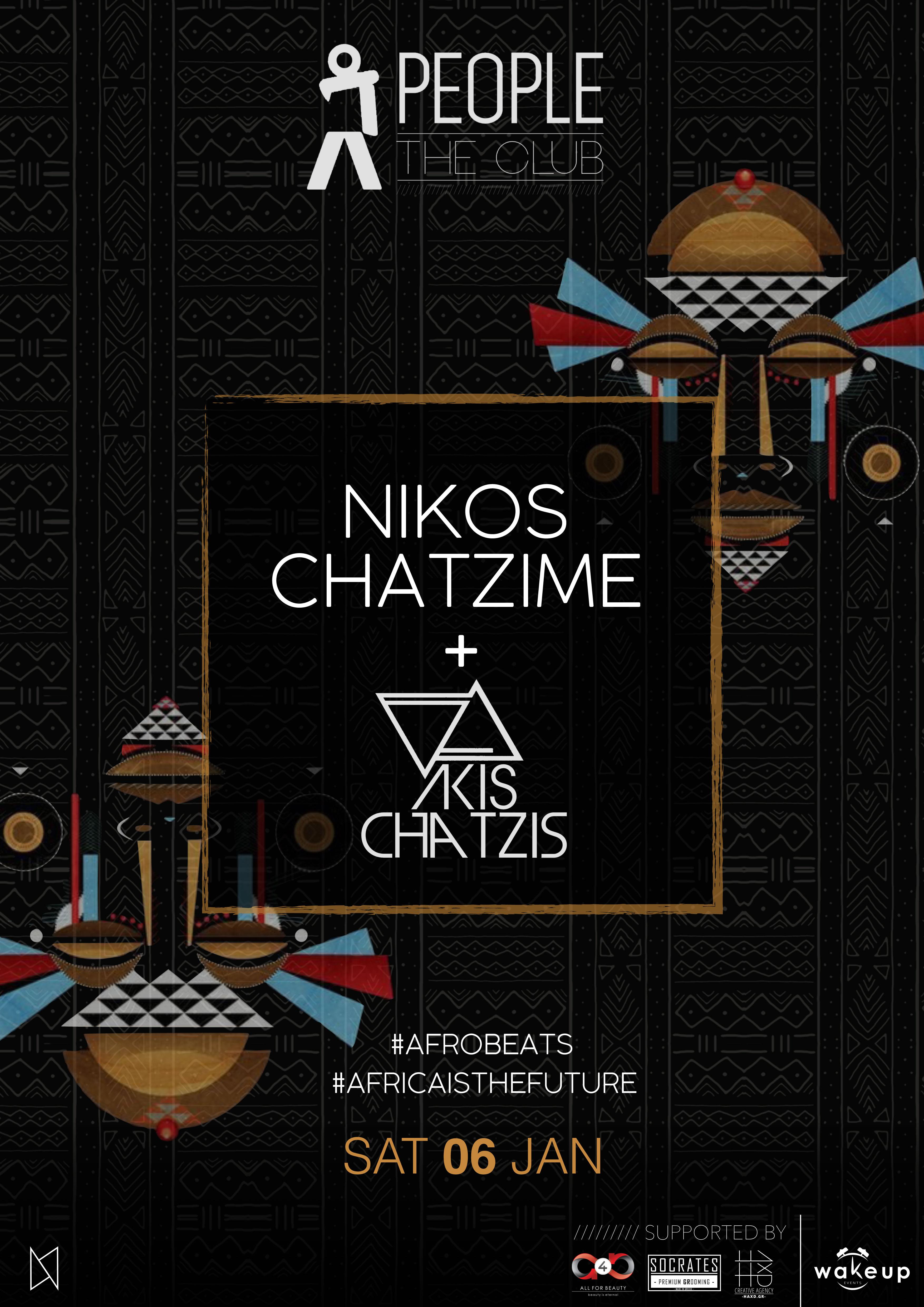 Nikos Chatzime a/w Akis Chatzis @ People | The Club