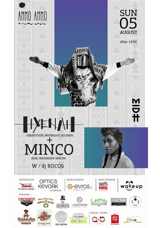 Hyenah & Minco (RISE) @ Ammo Ammo