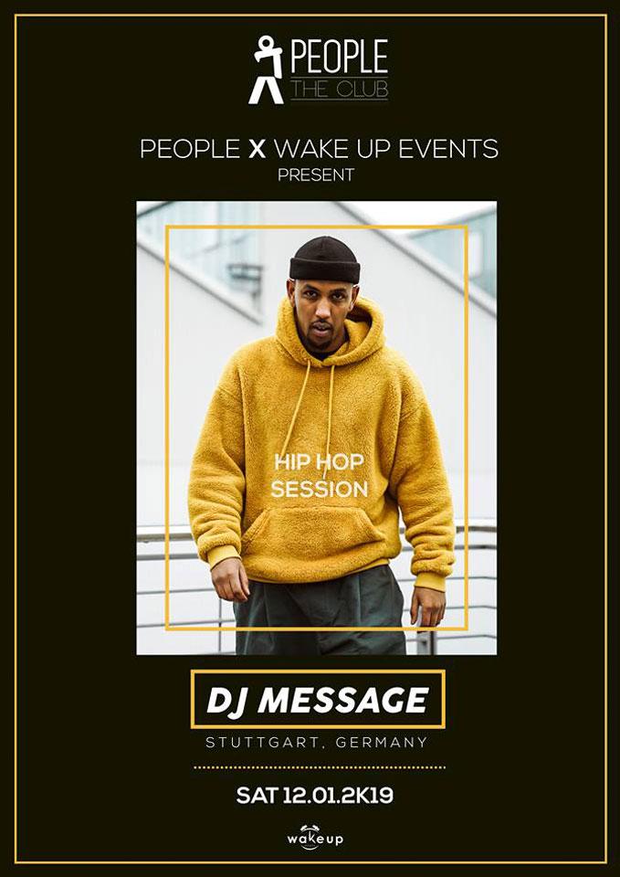 Dj Message @ People