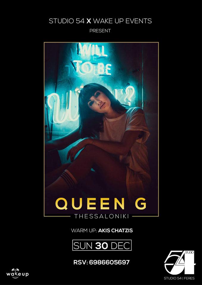 Queen G @ Studio 54, Feres